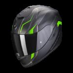 Noir mat-Vert