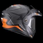 Noir mat-Argent-Orange