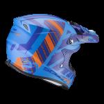 Bleu mat-Orange