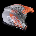 Gris mat-Orange