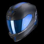 Noir mat-Bleu